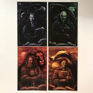 Harry Potter Hogwarts Founders Loot Crate Prints